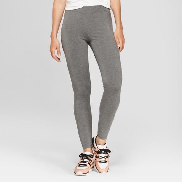 ac85b861ae Mossimo Supply Co. Pants   Mossimo Gray Cotton Leggings Size Medium ...